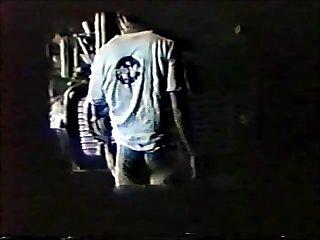 Spycam truckers night fucking