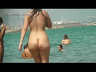 Exclusive nude beach and topless hd videos