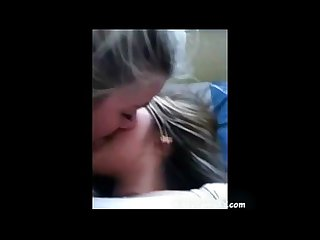 Lesbian teen kissing Part 1
