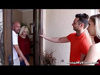 Naughty girlfriend Sierra nicole opens her wet cooze for Boyfriends papa