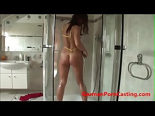 Horny german amateur milf masturbates germanporncasting com