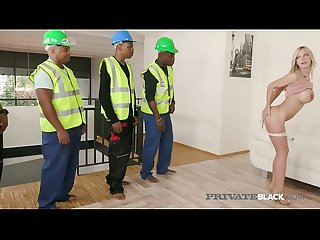 Privateblack 5 Black cock gangbang with nathaly cherie