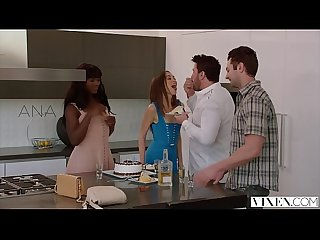 Vixen riley reid has intense threesome with Ana foxxx and boyfriend