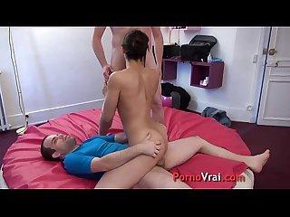 Beurette fait un porno en cachette de son mari french amateur
