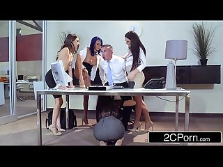 4 interns suck cock for a job aidra fox janice griffith lana rhodes riley reid