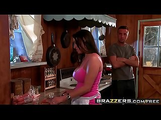 Brazzers mommy got boobs have a slice of my poon tang pie scene starring vanilla deville and ke