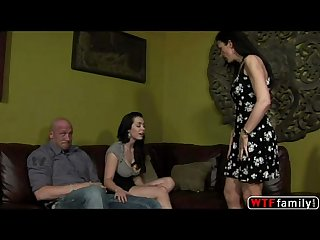 Horny Beverly hills is getting intimate with her bf when her stepmom gina rome j