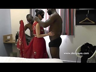 Indian Bhabhi Fucked Group Sex By Big Black Cock - DesiPapa.com