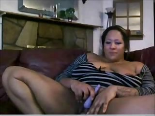 Thick ebony from blackscrush com fucks her pussy