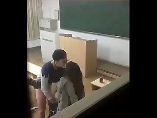 Desi girl in classroom