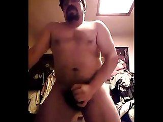 Gordo barbon mexicano hetero