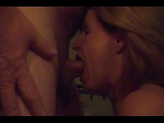 Incredible deep throat