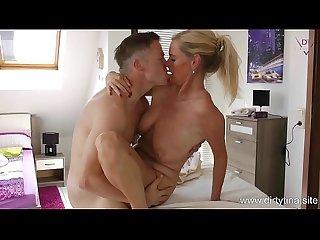 Horny creampie massage for dirtytina