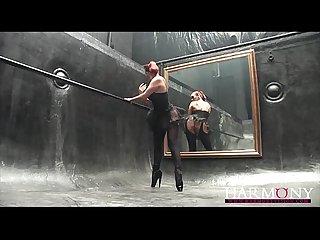 Harmony vision busty Keira farrell is an aerobics anal slut