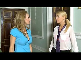Schoolgirl is forced and seduced by a real lesbian www katherinecams com