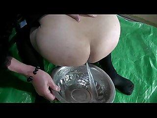 Mature hentai jyosouko fujiko enema anal training