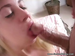 Teen sister blows bro