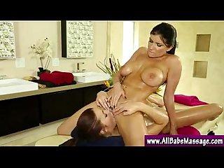 Lesbian girl sucking vagina