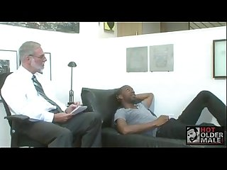 White grandpa gets fucked by ebony thug boyfriendtv com Mp4