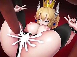 Bowsette sex scene