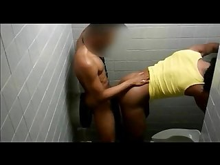 Fucking in the bathroom