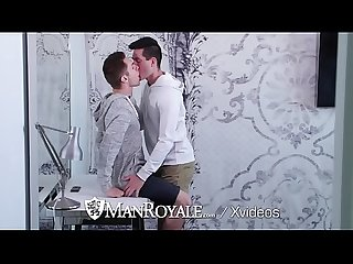 ManRoyale Strangers spontaneously fuck after movie