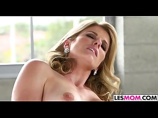 Kirsten Lee gets seduced by mom Cory Chase